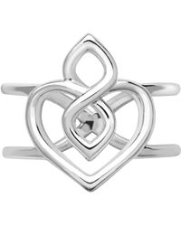Links of London - Infinite Love Sterling Silver Ring - Lyst