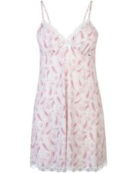 DORINA Paisley Print Chemise - Pink