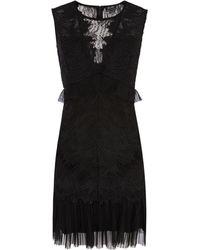 Bardot - Lace Mini Dress - Lyst