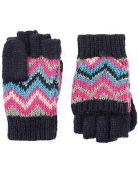 Monsoon | Heritage Stripe Capped Gloves | Lyst