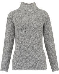 Whistles - Anderson Split Sided Sweater - Lyst