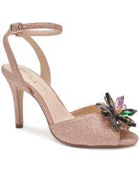 Paradox London Pink Stephanie Jewelled Sandals - Multicolour