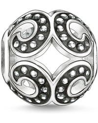 Thomas Sabo - Karma Bead Powerful Wave - Lyst