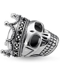 Thomas Sabo - Skull King Karma Bead - Lyst
