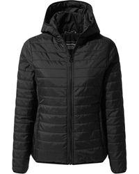 Craghoppers Compresslite Hooded Jacket - Black