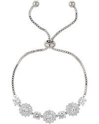 Mikey - Cubic Daisy Bead Box Chaintieup Bracelet - Lyst