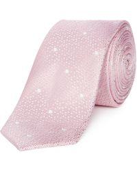 Kenneth Cole - Wellington Spot Textured Tie - Lyst