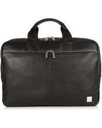 Knomo Newbury Briefcase 15in - Black