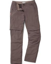 Craghoppers - Nosilife Convertible Trousers - Lyst