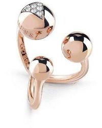 Guess - Three Beads Ring - Lyst