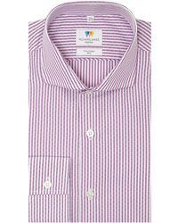 Richard James | Dash Dobby Stripe Slim Fit Shirt | Lyst