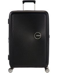 American Tourister - Soundbox Black Hard Large 4 Wheel Spinner - Lyst