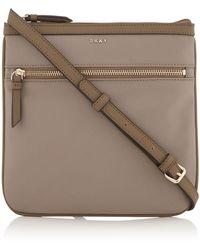 DKNY - Casey Zip Pocket Cross Body Bag - Lyst
