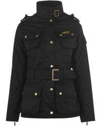 Barbour Inter Wax Jacket - Black