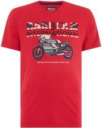 Barbour - Men's Union Racer T-shirt - Lyst