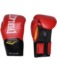 Everlast Elite Training Gloves - Black