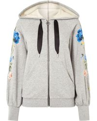 Sportmax Code - Rolf Embroidered Hoody - Lyst