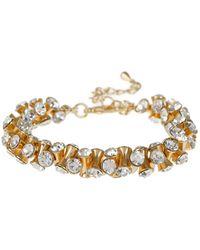 Mikey - Cubic Dumbell Beads Elastic Bracelet - Lyst