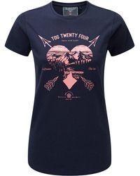 Tog 24 - Nicky Womens T-shirt Arrow Heart - Lyst