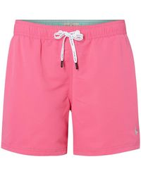 Jack Wills Jack Blakeshall Plain Swim Shorts - Pink
