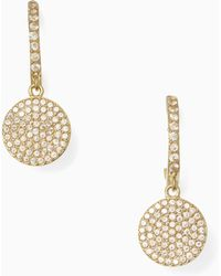 Kate Spade | Wbrue063 Shine On Pave Drop Earrings | Lyst