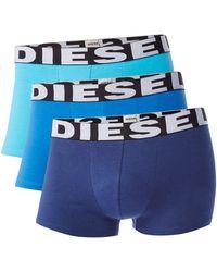 DIESEL - Men's Logo Waistband Trunks - Lyst