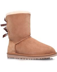 UGG - Bailey Bow Calf Boots - Lyst