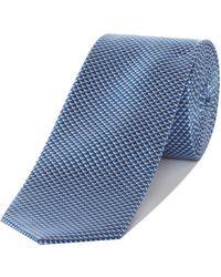 Kenneth Cole - Fulton Triangle Geo Silk Tie - Lyst