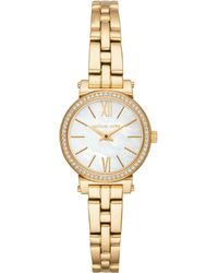 Michael Kors - Women`s Sofie Gold-tone Bracelet Watch - Lyst