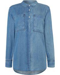 Calvin Klein | Eveline Long Sleeve Shirt | Lyst