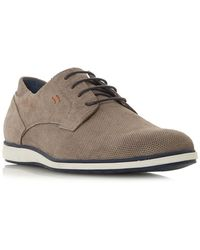 Dune - Bamfield Perforated Derby Shoes - Lyst
