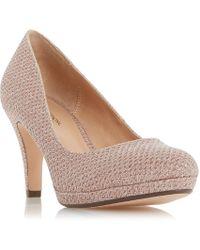 Roland Cartier   Bolla Platform Court Heel Shoes   Lyst