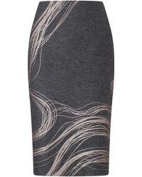Jigsaw - Storm Contours Pencil Skirt - Lyst