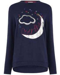 Oasis Over The Moon Sweat - Blue