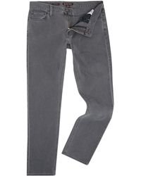 Michael Kors - Men's Slim Fit Mid Grey Jeans - Lyst