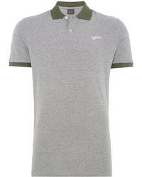 Jack & Jones - Men's Mills Contrast Polo Shirt - Lyst