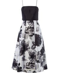 JS Collections - Mikado Halter Dress - Lyst