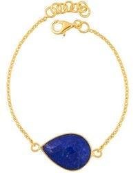 Juvi Designs | Gold Vermeil Egadi Teardrop Bracelet | Lyst