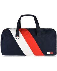 Tommy Hilfiger Chevron Duffle Bag - Blue