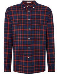 Howick - Men's Deermont Check Long Sleeve Shirt - Lyst
