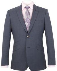 Alexandre Of England - Harrington Tailored Puppytooth Jacket - Lyst
