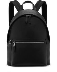 Mulberry Zipped Backpack Bag - Black