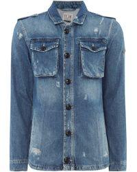 Pepe Jeans - Men's Slough Denim Long Sleeve Shirt - Lyst