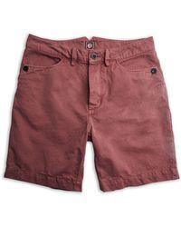 Pretty Green - Men's Cotton City Shorts - Lyst