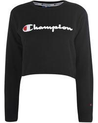 Champion Crop Top - Black