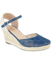 Lotus - Nigella Wedge Sandals - Lyst