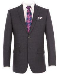 Alexandre Of England - Gresham Blue Suit Jacket - Lyst