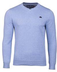 Raging Bull - Men's V-neck Cottoncashmere Sweater - Lyst