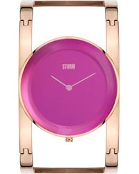 Storm - Amiah Rose Gold Watch - Lyst