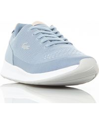 96c41ac7f5ed House of Fraser · Lacoste - Chaumont Knitted Runner Trainers - Lyst
